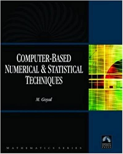 Computer-based Numerical and Statistical Techniques Book Pdf Free Download