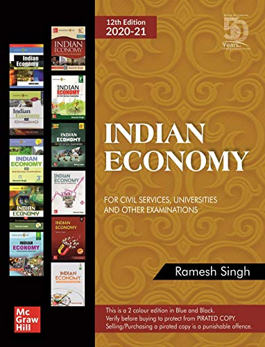Indian Economy for Civil Services, Universities and Other Examinations Book Pdf Free Download