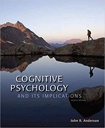 Cognitive Psychology and Its Implications book pdf free download